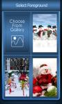 Zipper Lock Screen Snowman screenshot 3/6