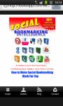 Social Bookmarking Intelligence  screenshot 1/4