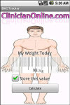 BMI Tracker screenshot 1/1