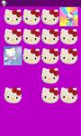 Hello Kitty Memory Game Free screenshot 2/5