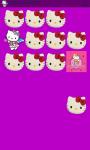 Hello Kitty Memory Game Free screenshot 3/5