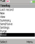 TimeLog screenshot 1/1