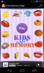 Kids Memory Saga screenshot 1/5