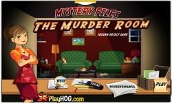 Free Hidden Object Games - The Murder Room screenshot 1/4