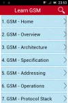 Learn GSM screenshot 1/3
