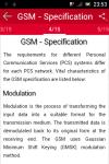 Learn GSM screenshot 2/3