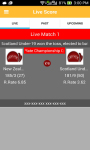 Cricjvb : Cricket Live Scores screenshot 2/6