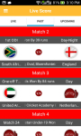 Cricjvb : Cricket Live Scores screenshot 4/6