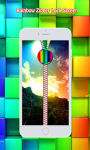 Rainbow Zipper Lock Screen screenshot 3/6