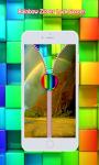 Rainbow Zipper Lock Screen screenshot 4/6