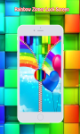 Rainbow Zipper Lock Screen screenshot 5/6