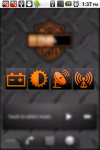 Harley-Davidson Battery Widget screenshot 2/3
