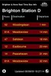 Brighton & Hove Bus Real Time Infoboard screenshot 1/1