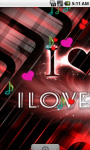 Love Music Cool Live Wallpaper screenshot 2/4