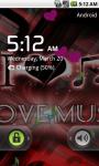 Love Music Cool Live Wallpaper screenshot 4/4