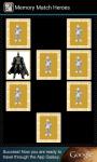 Memory Match Heroes screenshot 2/3