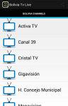 Bolivia Tv Live screenshot 1/3