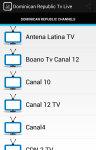 Dominican Republic Live Tv screenshot 1/5