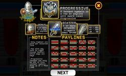 Slots Medieval Knight screenshot 2/4
