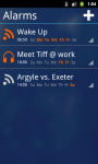 RSS Alarm Lite screenshot 1/3