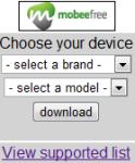 Mobeefree 2 10 screenshot 1/1