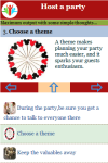 Tips to get ready for Host a party screenshot 3/3