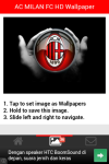 AC MILAN FC HD Wallpaper screenshot 2/5