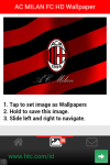 AC MILAN FC HD Wallpaper screenshot 4/5