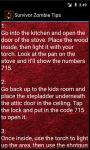 Survivor Zombie Walkthrough Tips screenshot 4/4