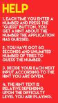 Guess The Number App screenshot 5/5
