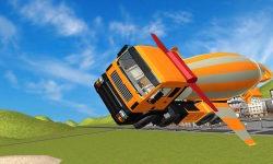 Flying Construction Truck screenshot 3/4