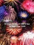 New Year 2009 Countdown (with Fireworks) screenshot 1/1