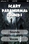 Scary Paranormal Sounds screenshot 1/1