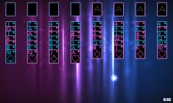 Neon Solitaire screenshot 2/3