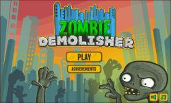 Zombie building demolitions screenshot 1/6