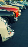 Classic red Ford Thunderbird Wallpaper HD screenshot 3/3