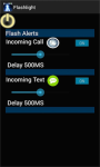 Led Flash alert on call and sms screenshot 3/3