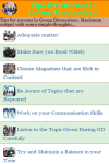 Tips for success in Group Discussions screenshot 2/3