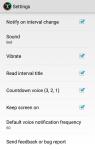 Optimus Interval Timer Free screenshot 5/5