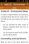 learn Ember JS screenshot 2/6