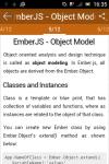 learn Ember JS screenshot 3/6