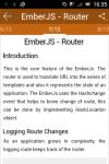 learn Ember JS screenshot 4/6