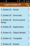 learn Ember JS screenshot 5/6