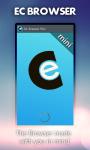 EC Browser Mini - Super Fast screenshot 1/5