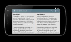 Side by Side Notepad screenshot 1/5