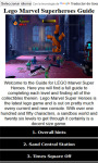 Lego Marvel Cheats and Guide screenshot 1/3