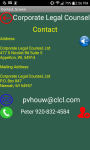 Corporate Legal Counsel Lawyer screenshot 3/5