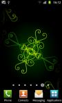Swirling Ornaments Live Wallpaper - Free screenshot 3/6