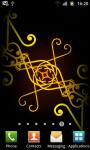 Swirling Ornaments Live Wallpaper - Free screenshot 5/6