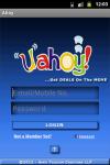 uAhoy app screenshot 1/6